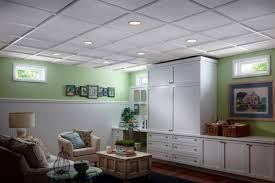 Lights For Drop Ceiling Basement by How To Install An Acoustic Drop Ceiling Quinju Com