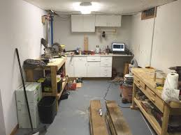 chris u0027 basement work shop the wood whisperer