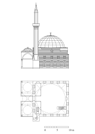 architectural floor plans and elevations defterdar mustafa paşa camii floor plan and elevation archnet