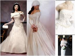 cozy look winter bridal costumes with accessories ideas
