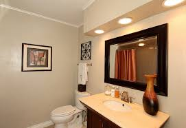 Frame A Bathroom Mirror With Molding by Frame From Crown Molding Trimming Out A Mirror Diy With To Backlit