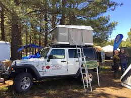 overland jeep tent report of the 2015 overland expo u2013 truck camper adventure