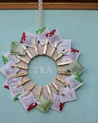Gift Ideas Kitchen How To Make A Tea Wreath