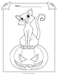 free printable jack o lantern coloring pages 17 best halloween worksheets images on pinterest halloween
