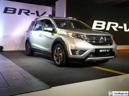 honda brv official launch image silver carblogindia