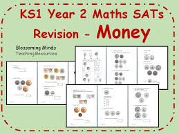 ks1 year 2 maths sats revision money differentiated levels by