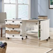 Craft Desk With Storage Sauder Select Sewing Craft Cart 414873 Sauder
