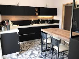 cuisine avec frigo americain emejing cuisine avec frigo noir contemporary lalawgroup us