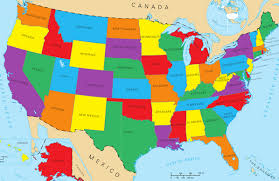 map with labels dan amira on amazing map labels each state with the name