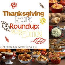 thanksgiving 2013 recipe roundup on sugar mountain