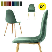 lot 4 chaises blanches lot 4 chaises scandinaves groupon goods global gmbh lot de 4 chaises