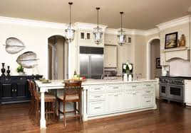 kitchen island with breakfast bar and granite top kitchen and decor