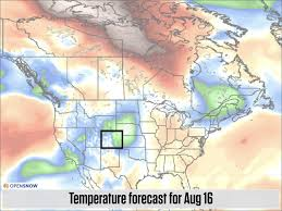 Colorado Temperature Map by The 5 Day Eclipse Cloud Forecast Plus Temp Colorado Daily
