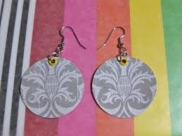 earrings paper paper earrings tutorial lulabelle handicrafts