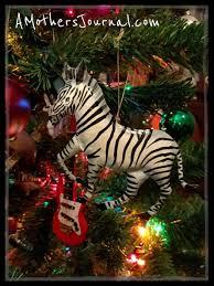 tree and a few guitar ornaments amj