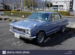 An Old Nissan Skyline Car Stock Photo Royalty Free Image