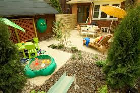 Ideas For Landscaping Backyard Kid Friendly Backyard Ideas Houzz