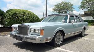 my first car a 1989 lincoln town car experience by charles smith