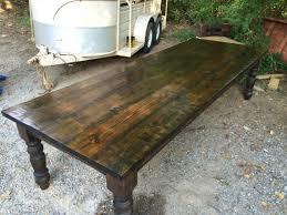 10 ft farmhouse table massive 10 foot farm table farming farmhouse table and farmhouse