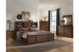 bookcase bedroom set furniture wolf creek bedroom collection