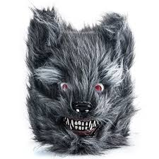 Werewolf Mask Wolf Costume Wolf Mask Scary Animal Masks Halloween Costumes