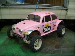 class 5 baja bug 99983 associated from autobahnstormer showroom gold pan rc10
