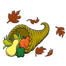 thanksgiving cornucopia clipart l c hunt middle pto october 2011