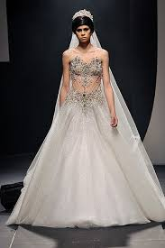 themed wedding dress dubai based michael cinco designs embellished wedding