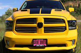 Dodge Ram Yellow - ram hornet edition dave smith custom