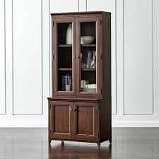 bookcase cherry bookcase with glass doors glass door cabinet a