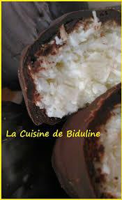 cuisine canalblog barres chocolatées bounty maison la cuisine de biduline