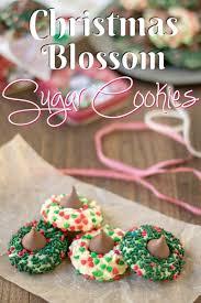 christmas sugar cookie blossoms princess pinky