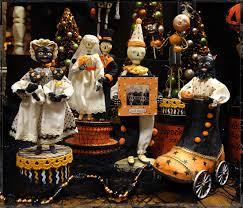 halloween figurines lori mitchell allen cunningham halloween folk art figures traditions