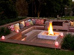 Backyard Fire Pit Design by Designing A Stylish Boma Sa Garden And Home