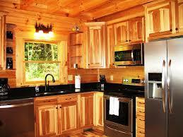 rustic hickory kitchen cabinets u2014 home design ideas