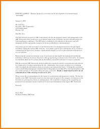 letter of transmittal example proposal