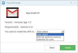 apk installer from pc install apk app on android directly from pc to sd card