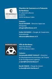 chambre de commerce bordeaux recrutement frenchtech bordeaux entreprises tic mission québec bfvq2015