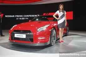 nissan coupe 2016 nissan gt r front three quarters at auto expo 2016 indian autos blog