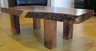 Walnut Wood Coffee Table Walnut Slab Coffee Table Custom The Home Redesign New Ideas