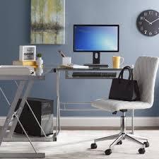 Computer Desk L Shape L Shaped Desks Wayfair Co Uk