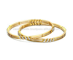 simple gold bracelet price images 18k maria bis hallmark gold diamond bangles buy 18k designer jpg