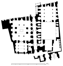 madrasa wa qubbat wa bimaristan al sultan qalawun floor plan of