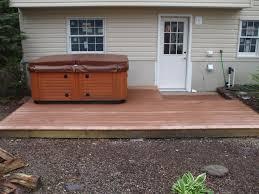 tub decks here s a simple cheap ground level