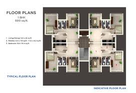 2 Bhk House Plan Expat Properties Vida Panaji Goa 1 2 Bhk Apartments In A