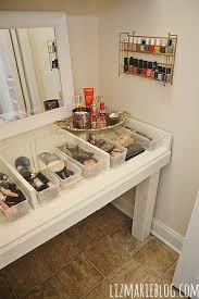 Vanity For Makeup 2361 Best Beauty Station Images On Pinterest Makeup Storage