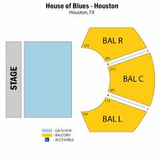 houston event map house of blues houston seating chart house of blues houston