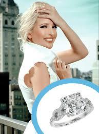 Jared Cushion Cut Engagement Rings Ivanka Trump Jared Kushner Celebrity Engagement Rings