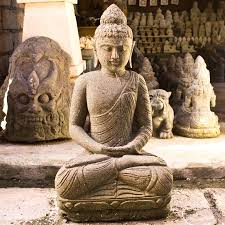 Buddha Home Decor Statues by Hand Carved Stone Sculptures From Indonesia For Home U0026 Garden Decor