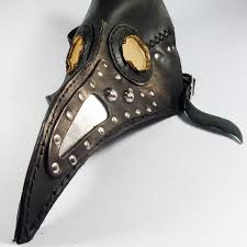 crow mask halloween plague doctor u0027s mask venetian steampunk military crow men gothic